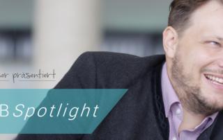 Andreas Renner präsentiert ABSpotlight Augsburg Business School Insights Management Weiterbildung Seminare