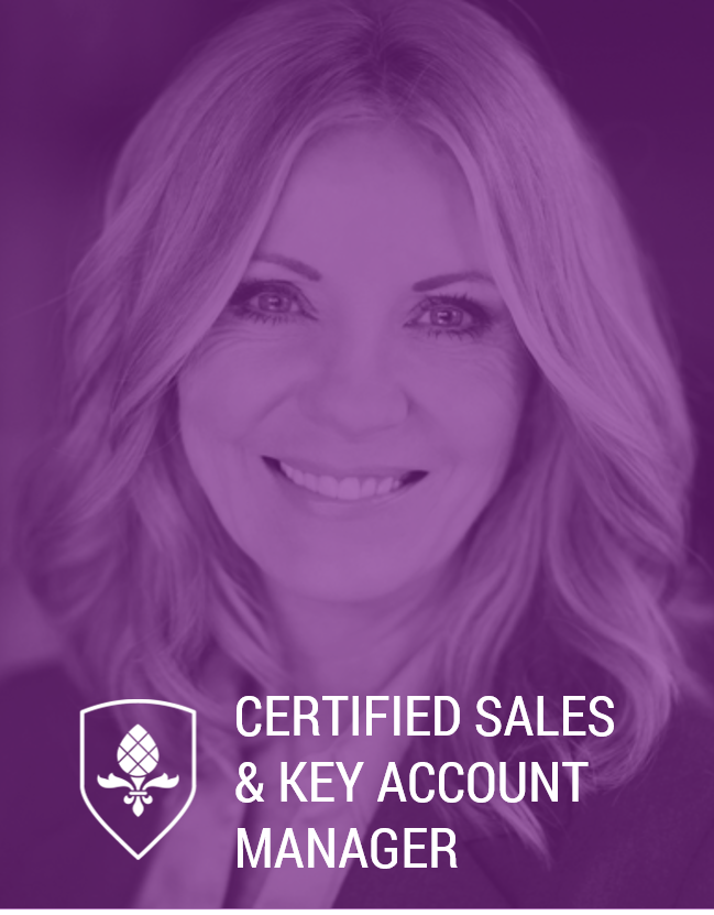 Certified Sales & Key Account Manager